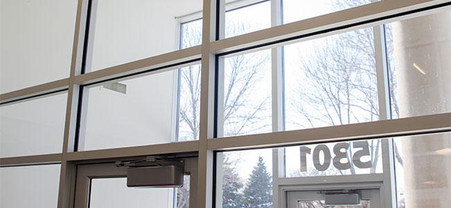 aluminum commercial door supplier in Minnesota