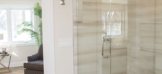 Custom Glass Shower Doors in Minnesota